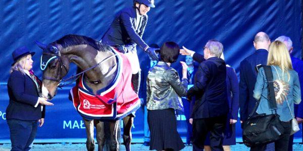 Winchester – najlepszym koniem polskiej hodowli naCavaliadzie wKrakowie