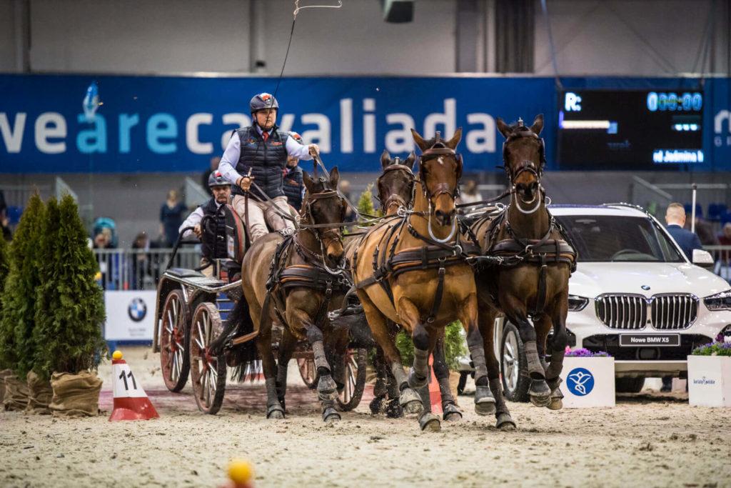 Mazurek - czwórka koni sp