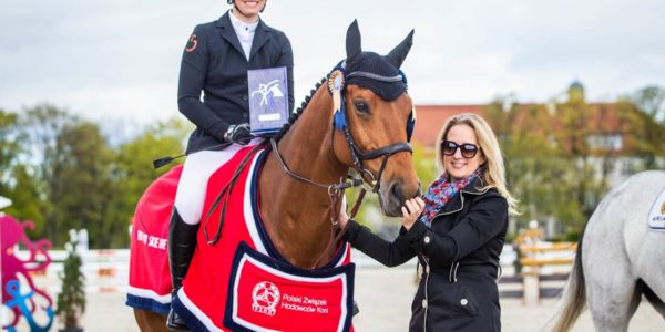Singapure sp – the best horse of Polish breeding in Sopot